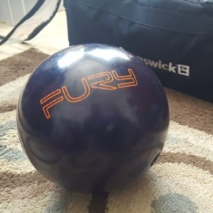 Brunswick Fury Bowling Ball